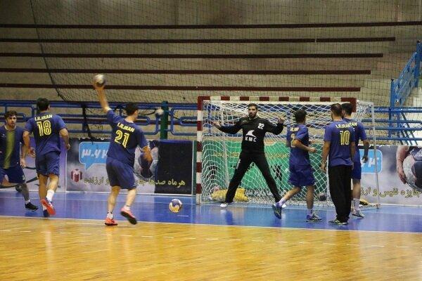 اردوی تیم ملی هندبال مردان در تهران شروع شد