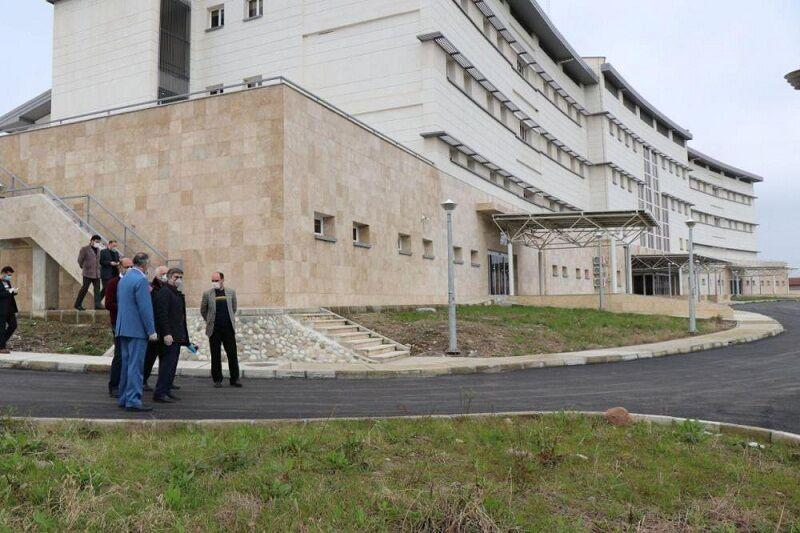 خبرنگاران فرماندار تالش: تجهیزات پزشکی بیمارستان جدید تامین شد