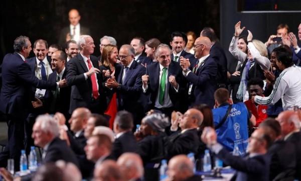 آمریکا، کانادا و مکزیک مشترکا میزبان جام جهانی 2026 شدند