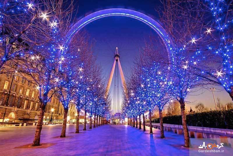 چشم لندن؛ عظیم ترین چرخ و فلک اروپا