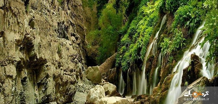 سفری یک روزه به روستای ارنگه و تماشای آبشار هفت چشمه، عکس