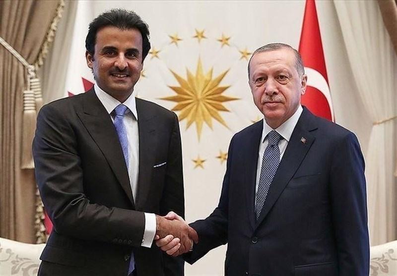 تماس تلفنی اردوغان با امیر قطر و رئیس جمهور آذربایجان