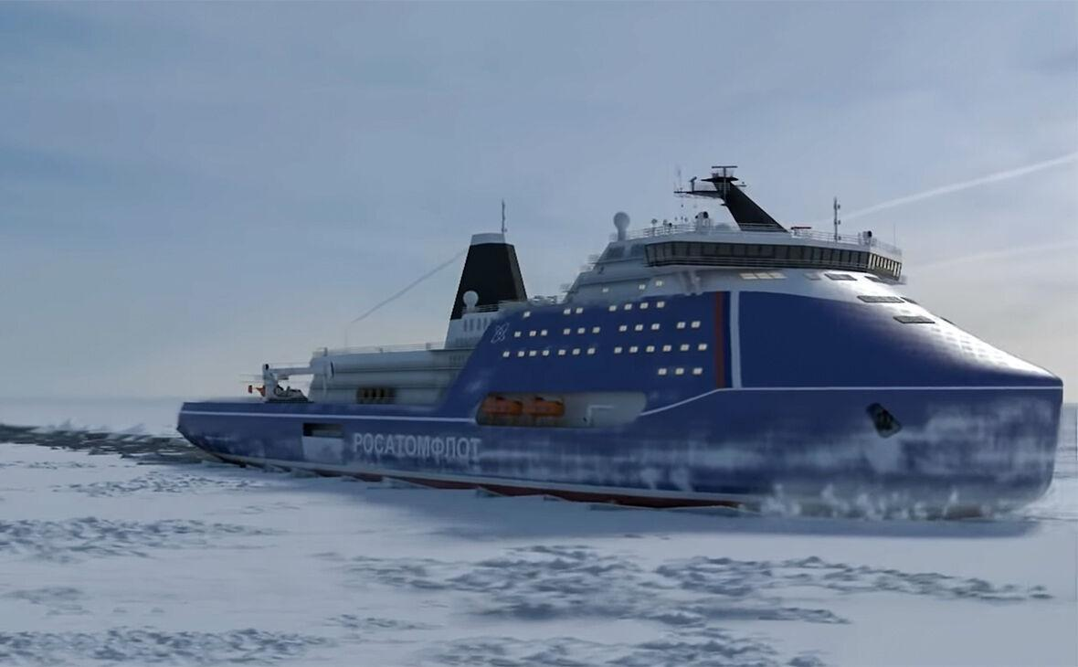 روسیه ساخت قوی ترین کشتی یخ شکن اتمی را آغاز کرد