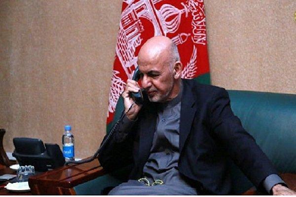 گفتگوی تلفنی غنی و ماکرون با موضوع صلح افغانستان