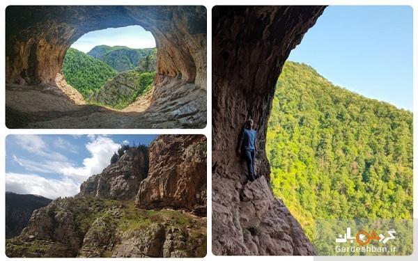 غار دربند رشی؛ از برجسته ترین جاذبه های شهر رودبار