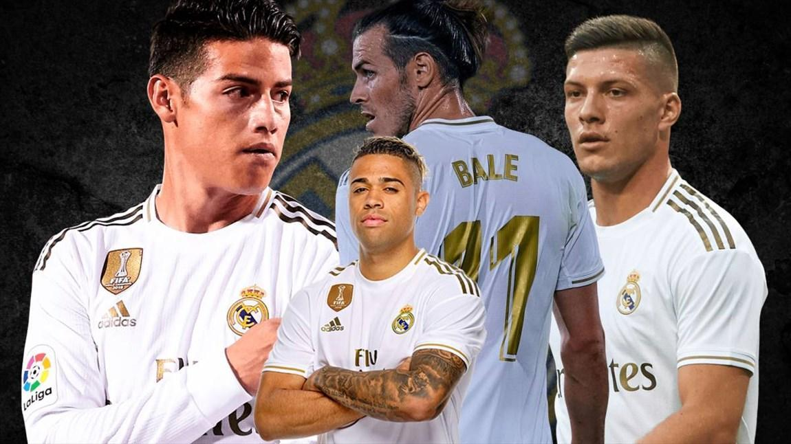 9 بازیکن اخراجی زیدان از رئال مادرید