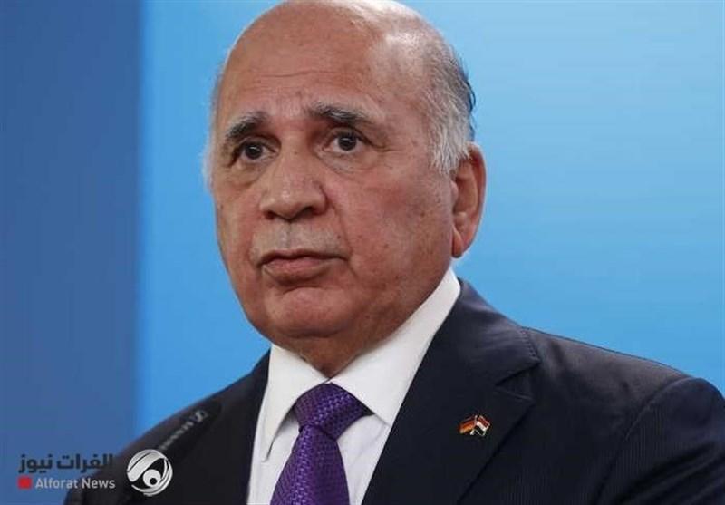 عراق، ورود فواد حسین به قاهره؛ شرکت در نشست مشترک با مقامات مصر و اردن