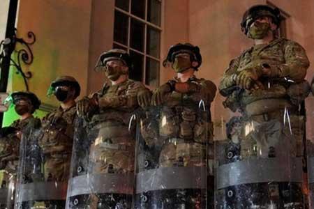 3600 نیروی گارد ملی در 16 ایالت آمریکا فعال شدند