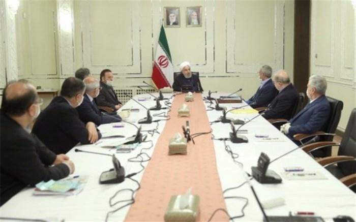 روحانی: به زودی طرحی جدید برای مدیریت بیماری کرونا تصویب می شود