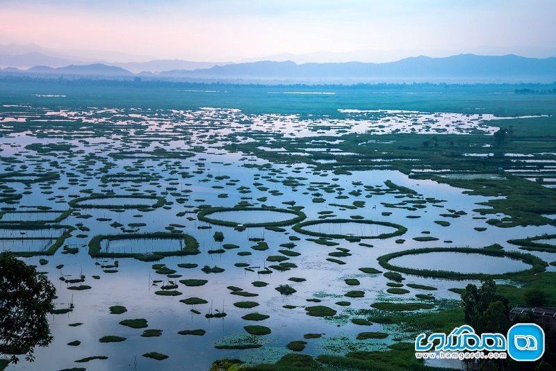 دریاچه لاک تک؛ تنها پارک ملی حفاظت شده شناور در دنیا