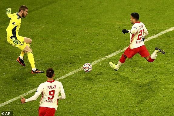 لایپزیش 3 - 2 یونایتد؛ حذف تیم همواره صدرنشین!
