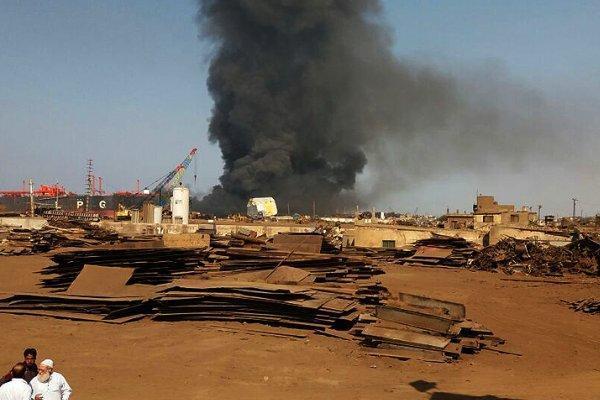 انفجار در یک نفتکش در بندر بانیاس سوریه